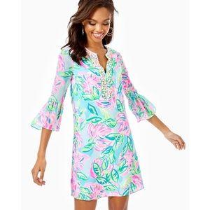 NWT Lilly Pulitzer Elena silk dress Sz small